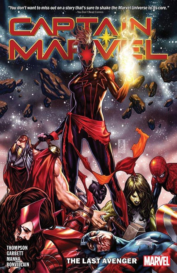 Captain Marvel Vol. 3: The Last Avenger TP