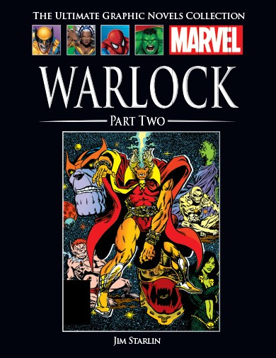 The Ultimate Graphic Novels Collection Warlock (Part 2)