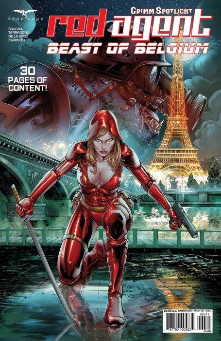 Grimm Red Agent: Beast of Belgium #1