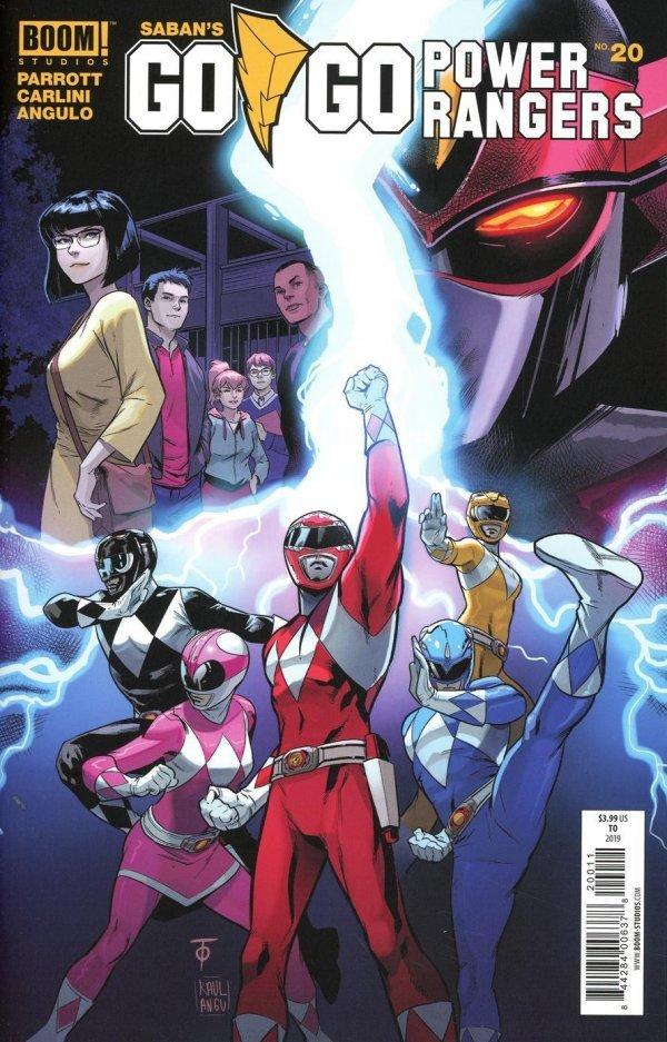 Go Go Power Rangers #20
