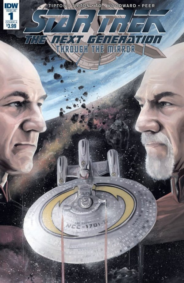 Star Trek: The Next Generation: Through The Mirror #1