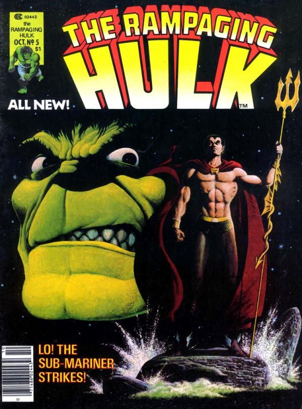 The Rampaging Hulk #5