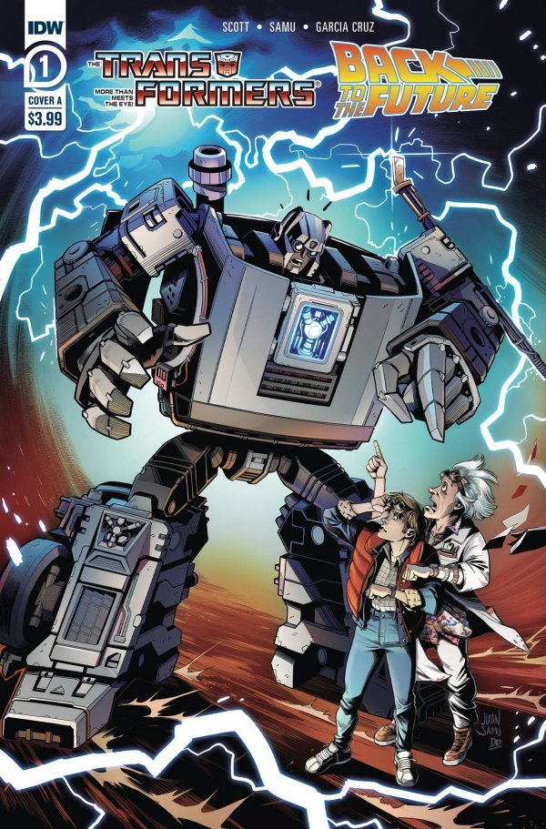 The Transformers / Back To The Future #1