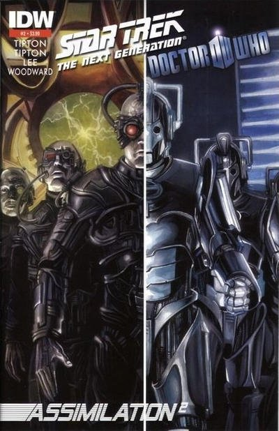 Star Trek: The Next Generation / Doctor Who - Assimilation2 #2