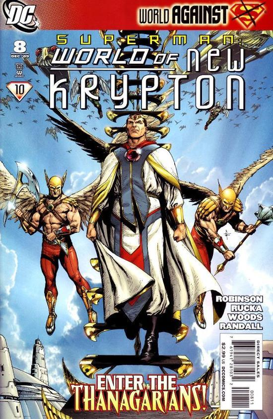Superman: World of New Krypton #8