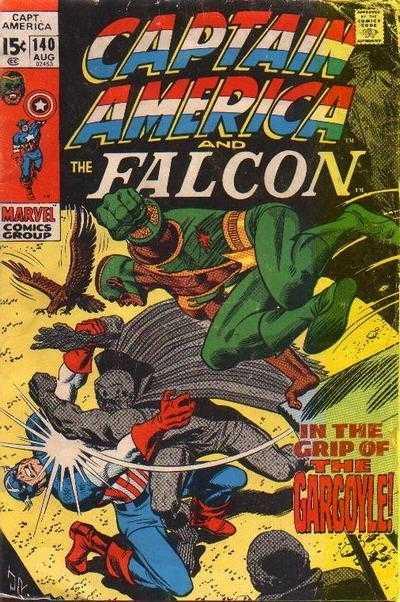 Captain America #140