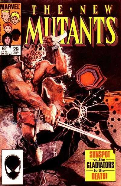 The New Mutants #29