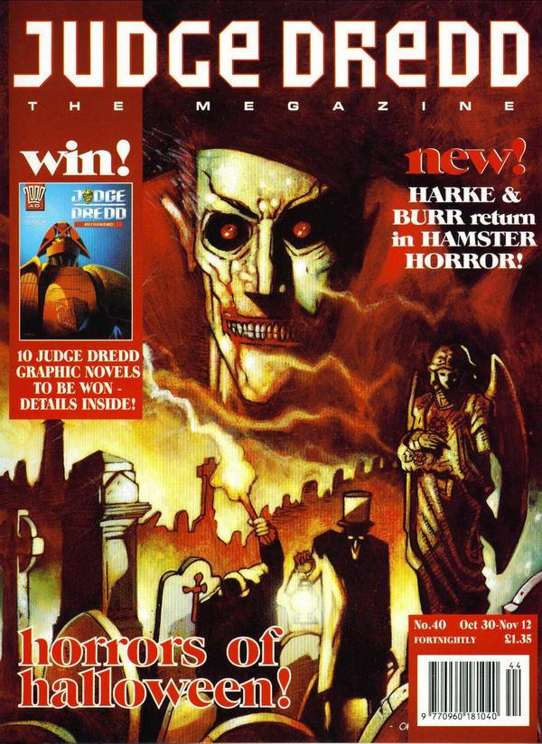 Judge Dredd: The Megazine #40