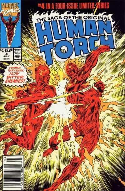 Saga of the Original Human Torch #4