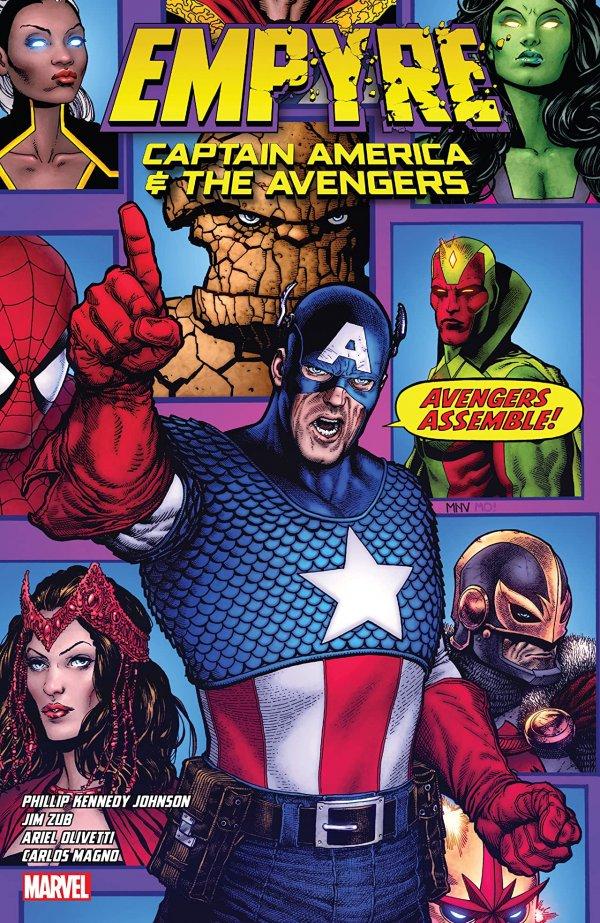 Empyre: Captain America & The Avengers TP