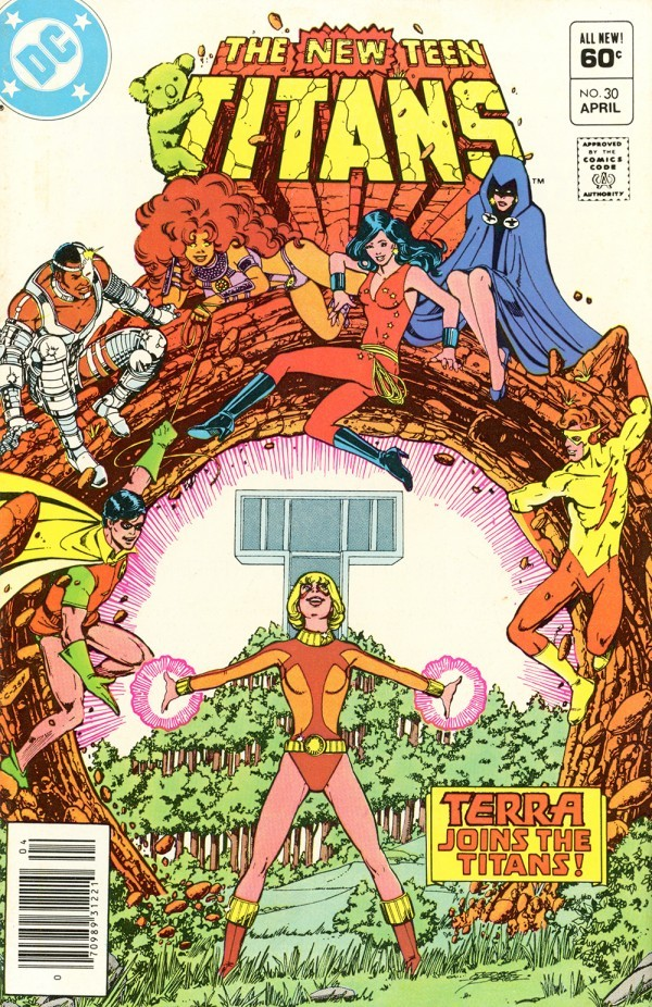 The New Teen Titans #30