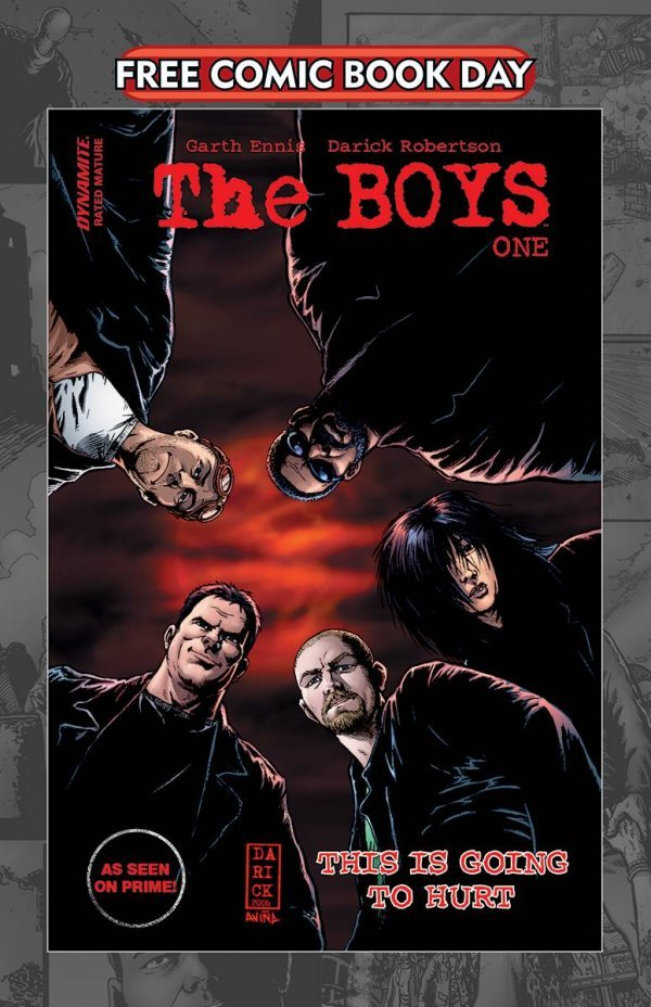 Free Comic Book Day 2020: The Boys #1 review