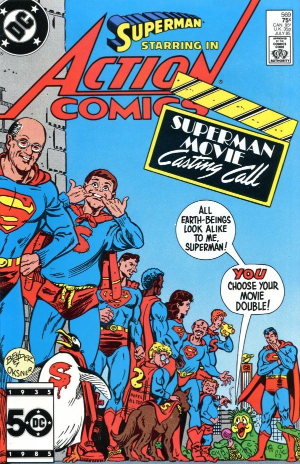 Action Comics #569