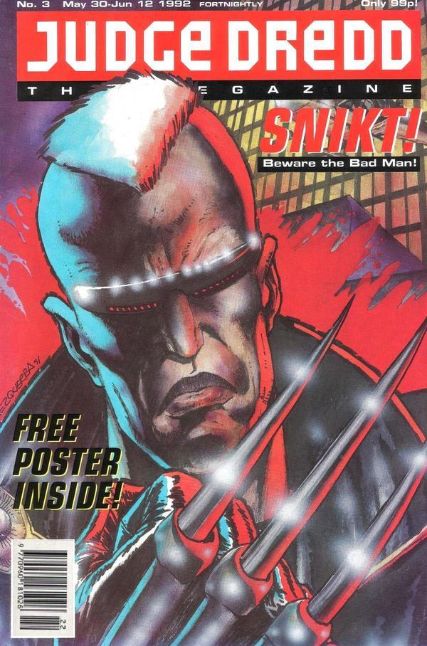 Judge Dredd: The Megazine #3