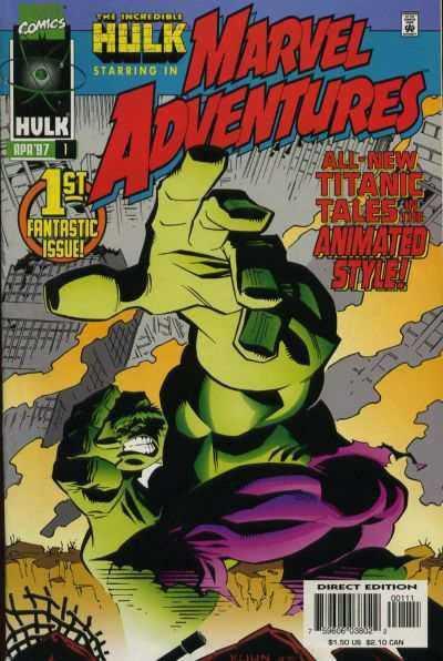 Marvel Adventures #1