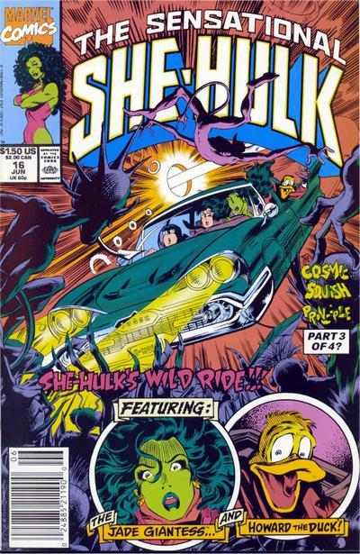 The Sensational She-Hulk #16