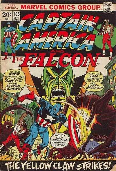 Captain America #165
