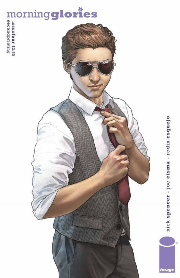 Morning Glories #4 2nd Printing Variant Cover