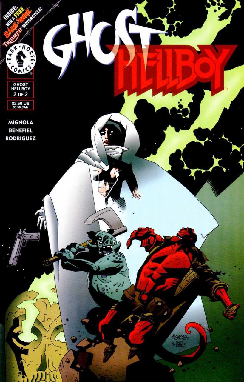 Ghost / Hellboy Special #2