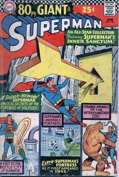 Superman #187