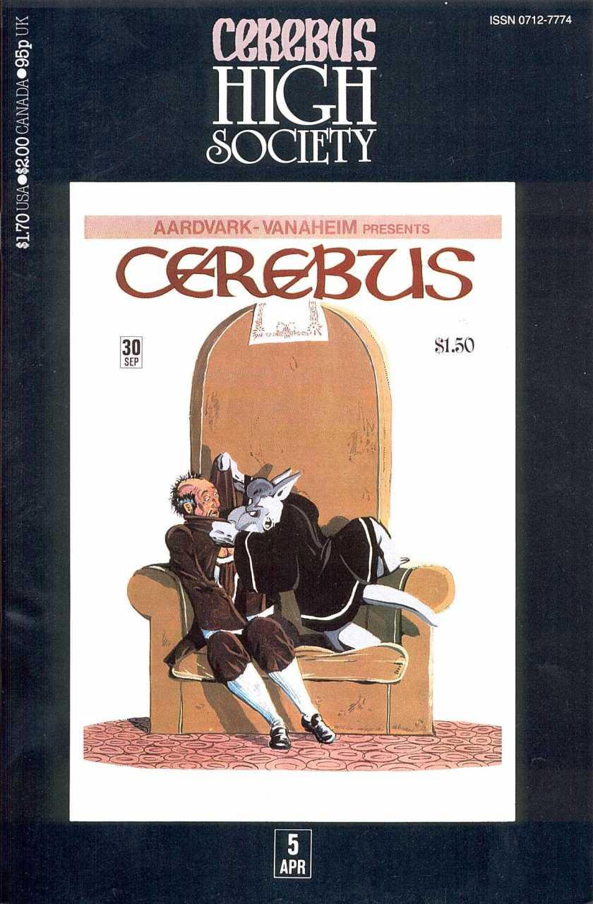 Cerebus High Society #5