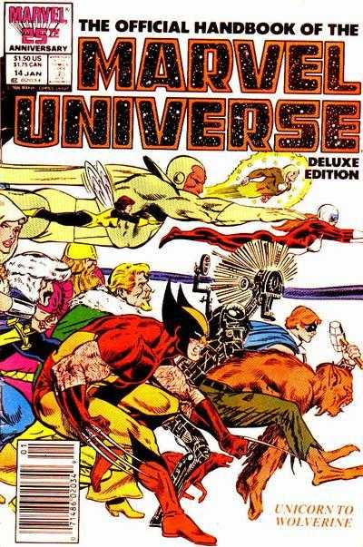 The Official Handbook of the Marvel Universe #14