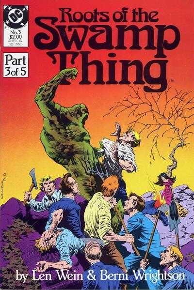 Roots of the Swamp Thing #3