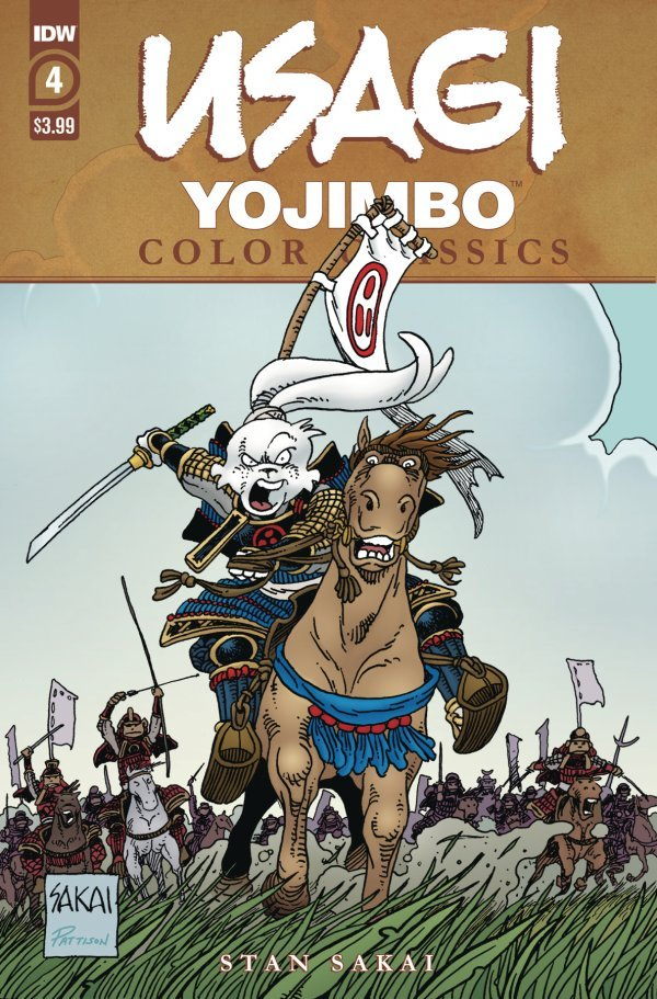 Usagi Yojimbo: Color Classics #4 review