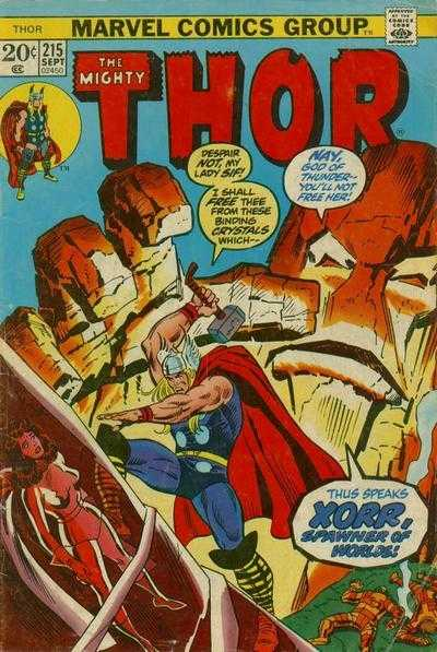 The Mighty Thor #215