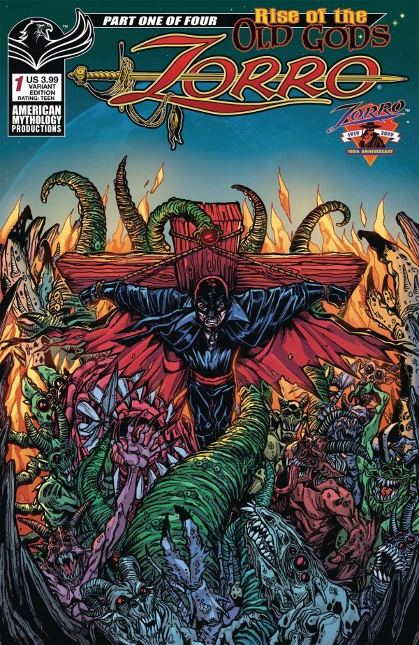 Zorro: Rise of the Old Gods #1