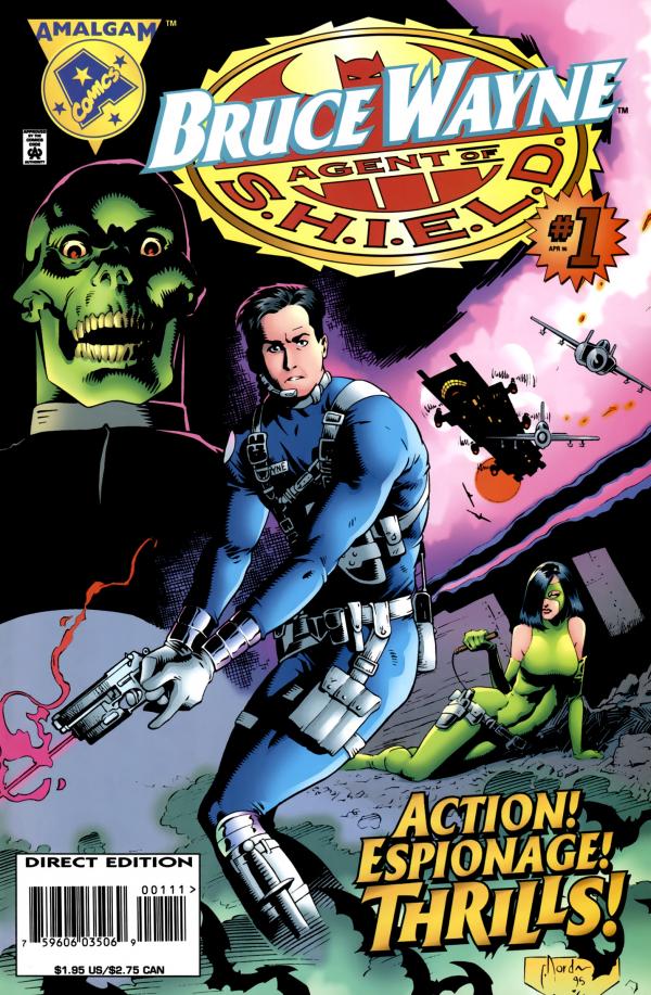 Bruce Wayne: Agent of S.H.I.E.L.D. #1