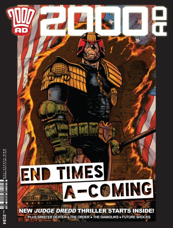 2000 AD #2184 review