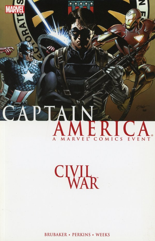 Civil War: Captain America TP