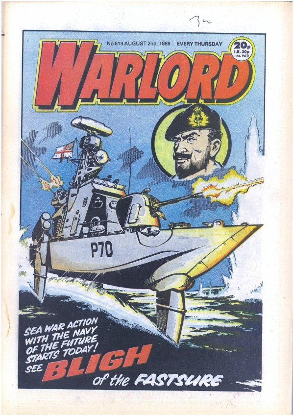 Warlord #619