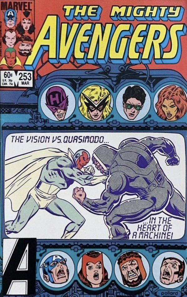 The Avengers #253