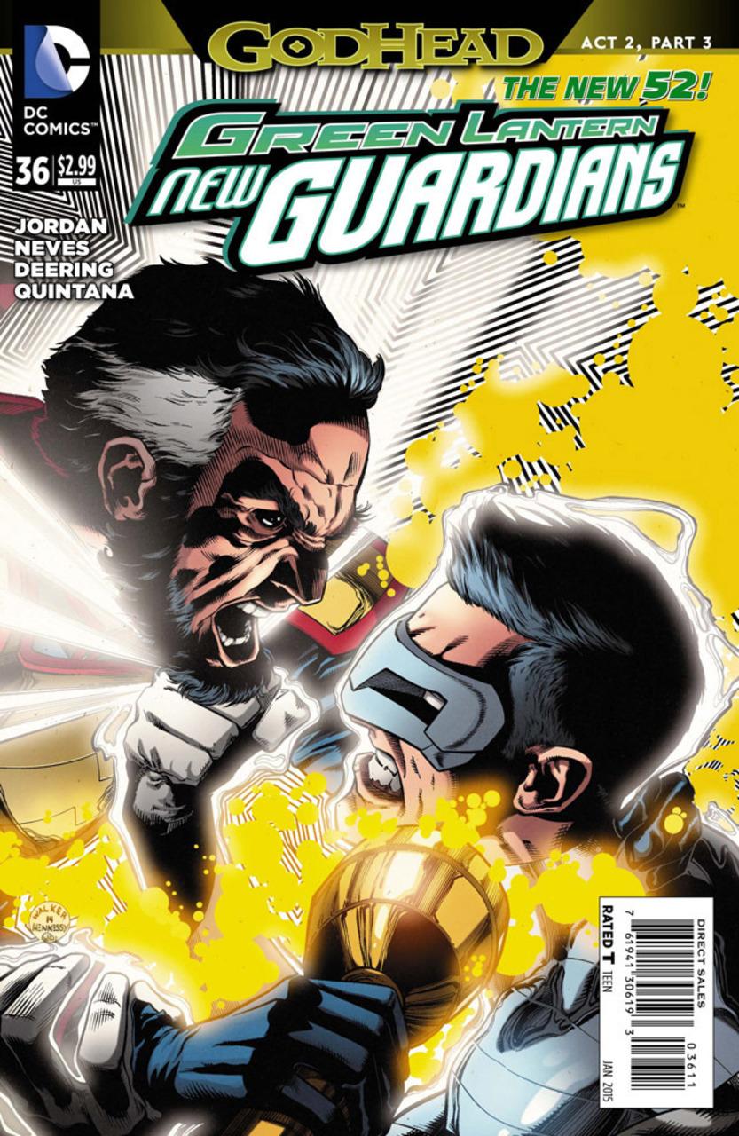 Green Lantern: New Guardians #36