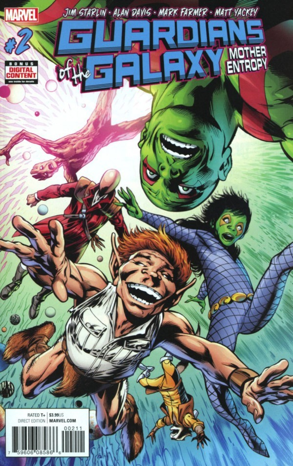 Guardians of the Galaxy: Mother Entropy #2