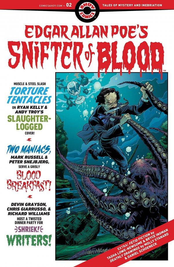 Edgar Allan Poe's Snifter Of Blood #2