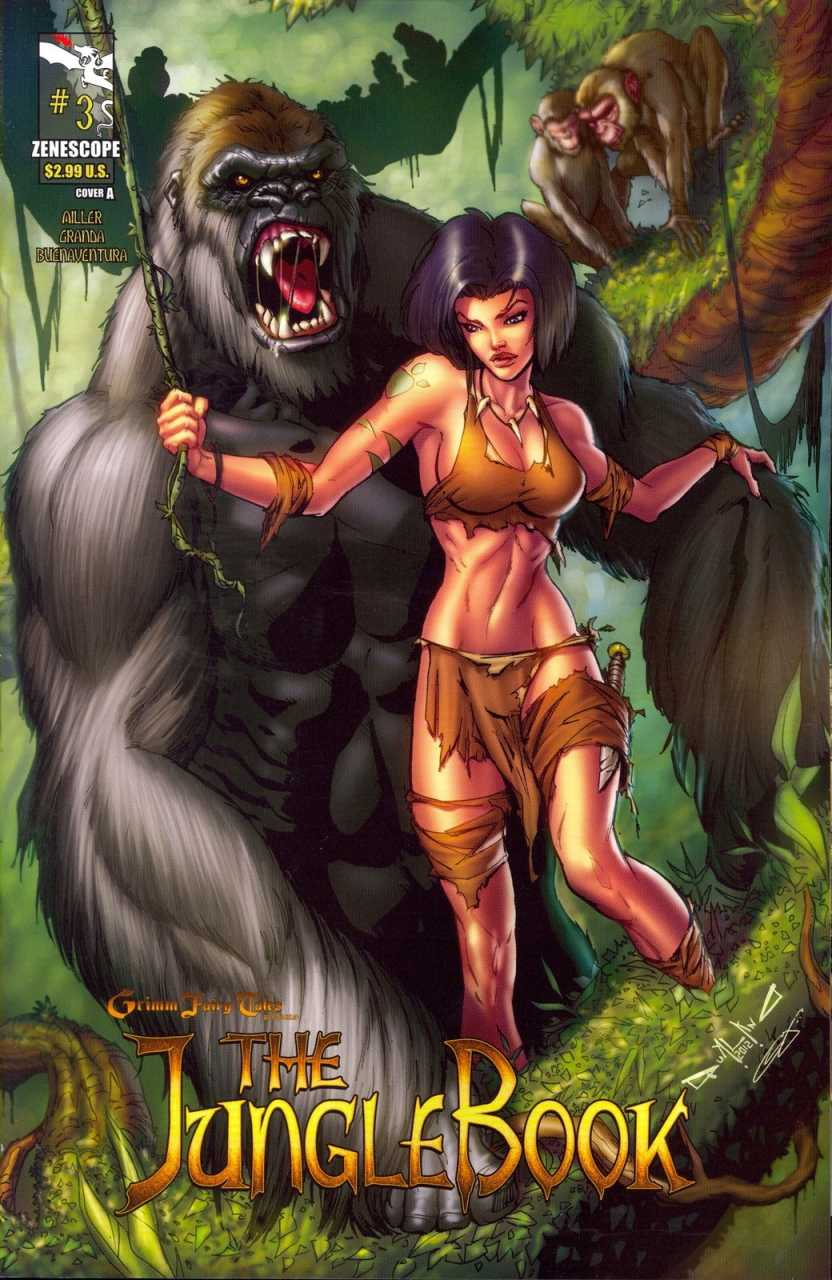 Grimm Fairy Tales Presents The Jungle Book #3