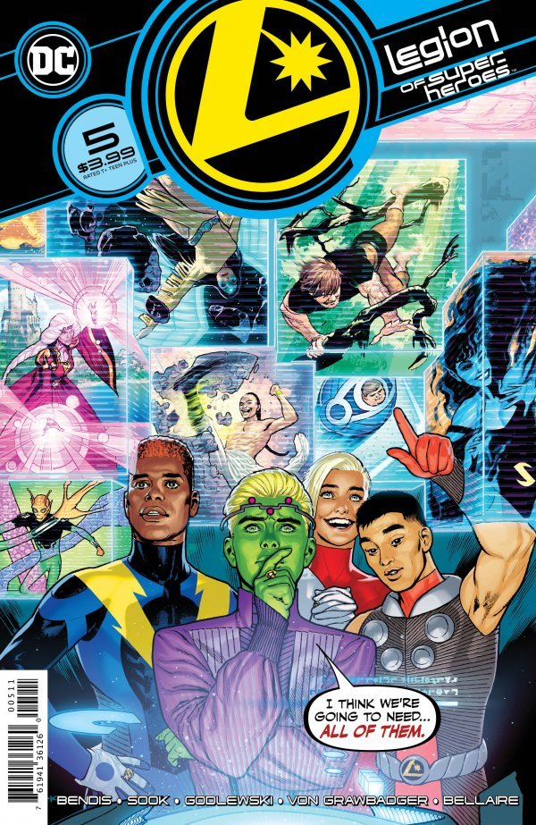 Legion of Super-Heroes #5 review