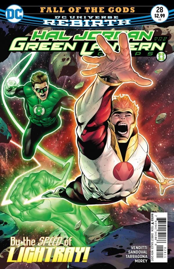 Hal Jordan and the Green Lantern Corps #28