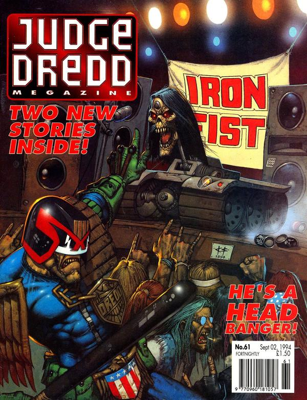 Judge Dredd: The Megazine #61