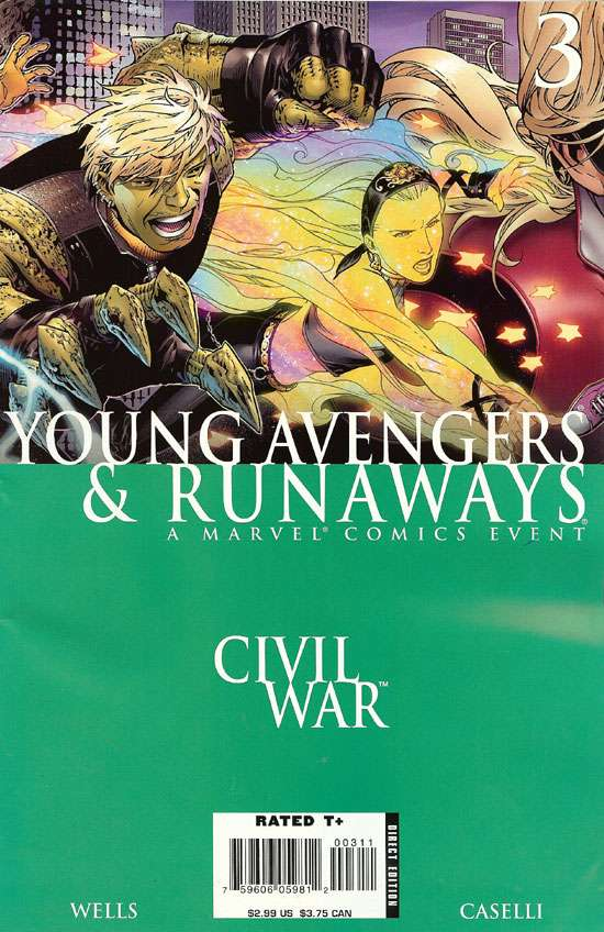 Civil War: Young Avengers & Runaways #3
