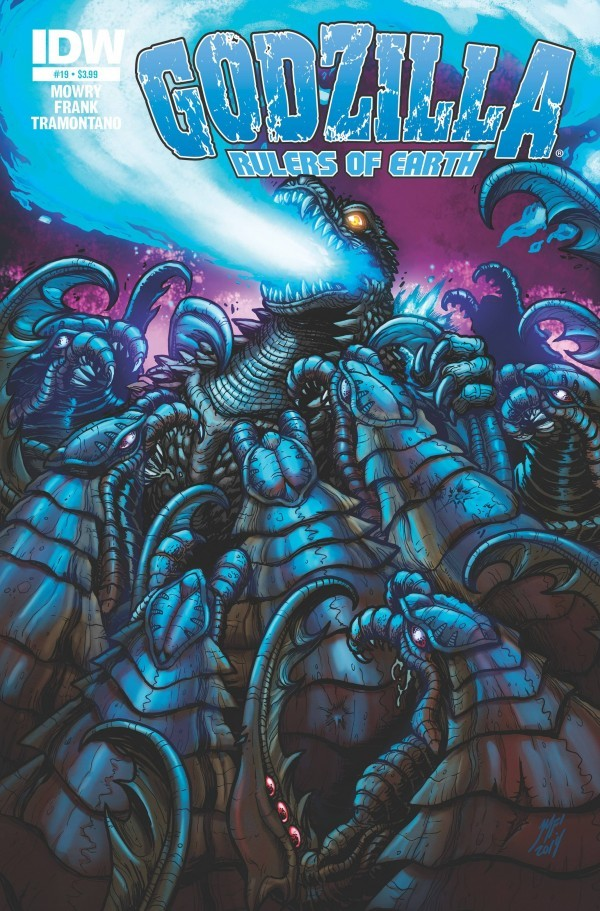 Godzilla: Rulers of Earth #19