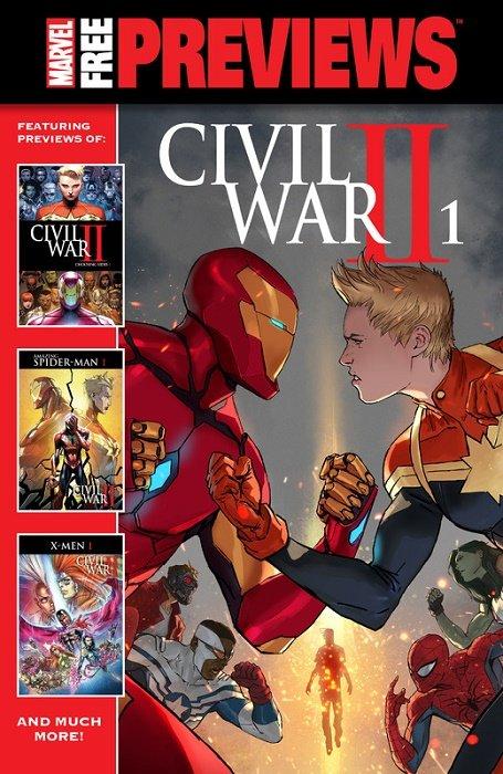 Civil War II Free Previews #1