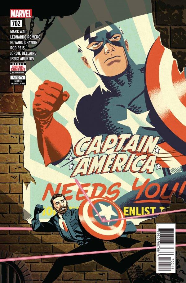 Captain America #702