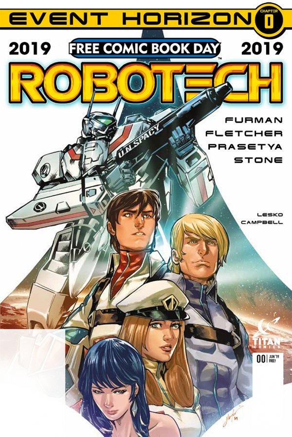 Free Comic Book Day 2019: Robotech #1