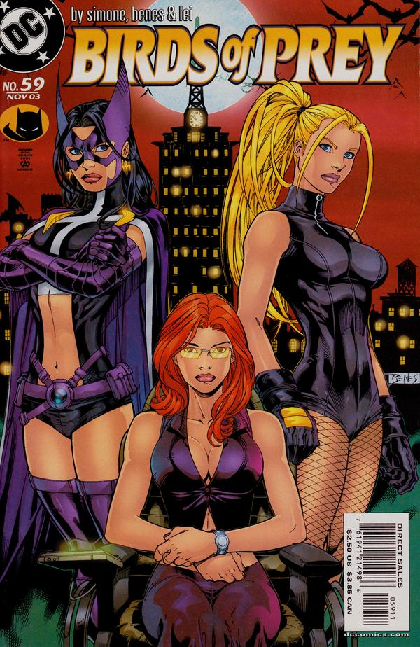 Birds of Prey #59