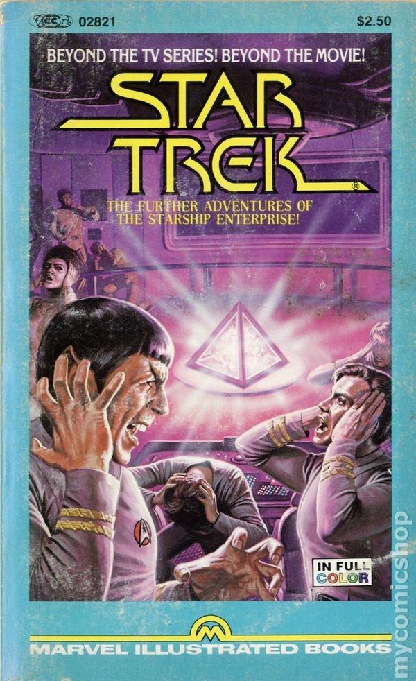 Marvel Illustrated Books: Star Trek - The Further Adventures of the Starship Enterprise