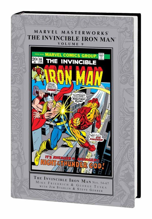 Marvel Masterworks: Invincible Iron Man Vol. 9 HC